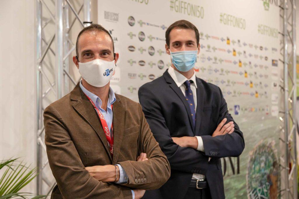 Luca Del Mese ed Alessandro Avagliano in abito.